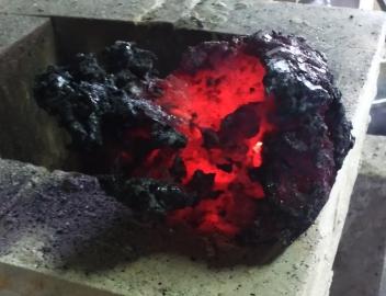 loupe d'acier de réduction
