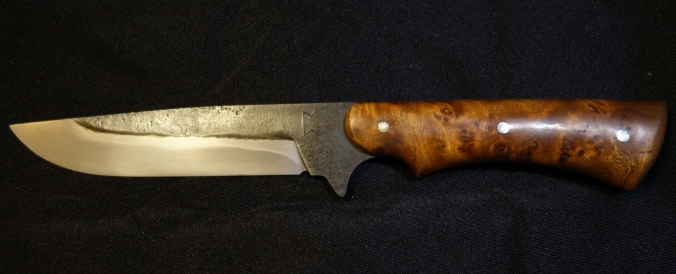 Couteau bushcraft 270mm orme_1